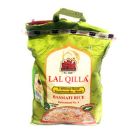Indian LaL QILLA Royal Basmati Rice Green Bag