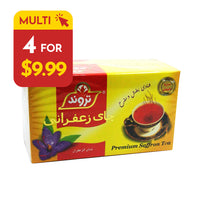 Tarvand Saffron Tea (Pack of 4)