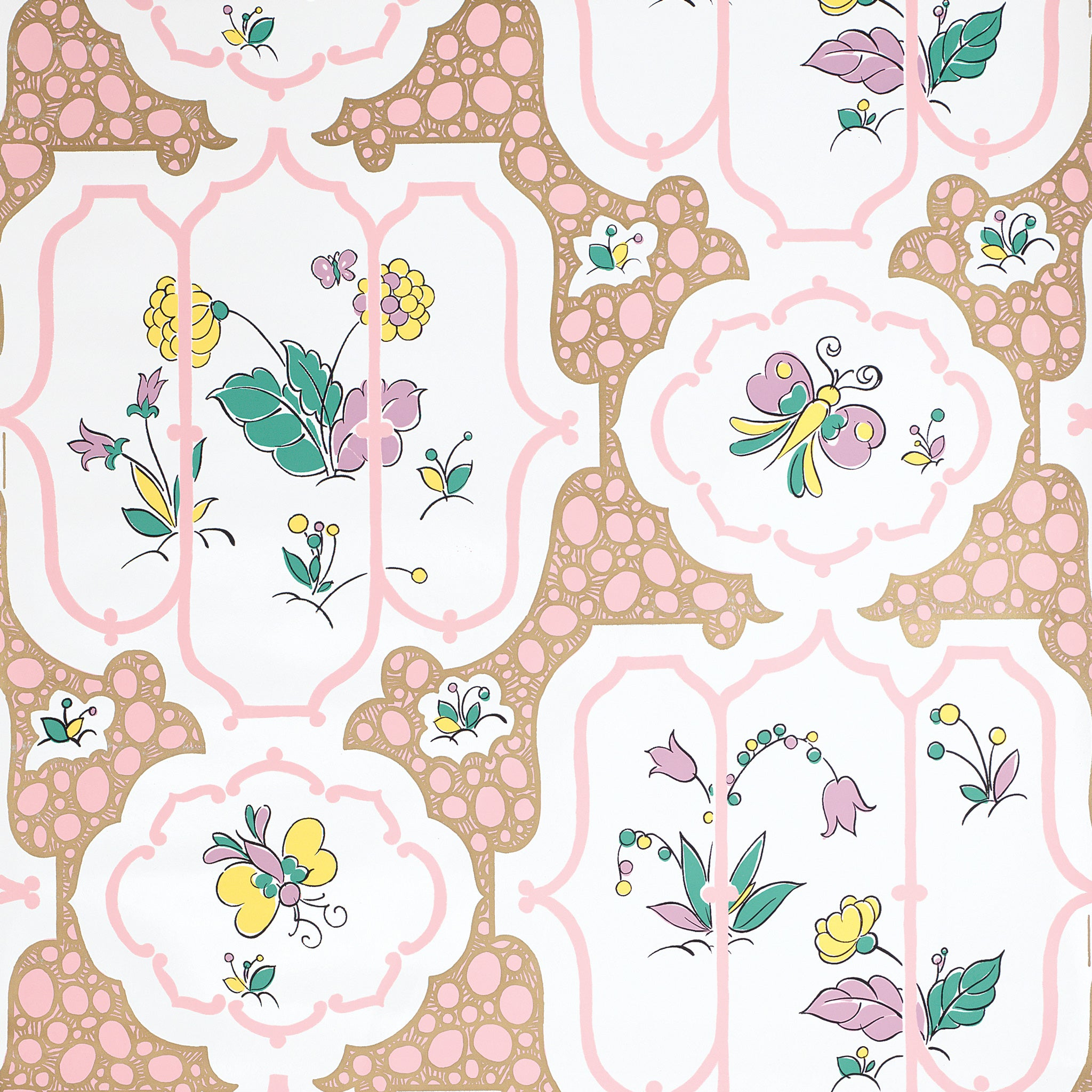 Chinoiserie Pink