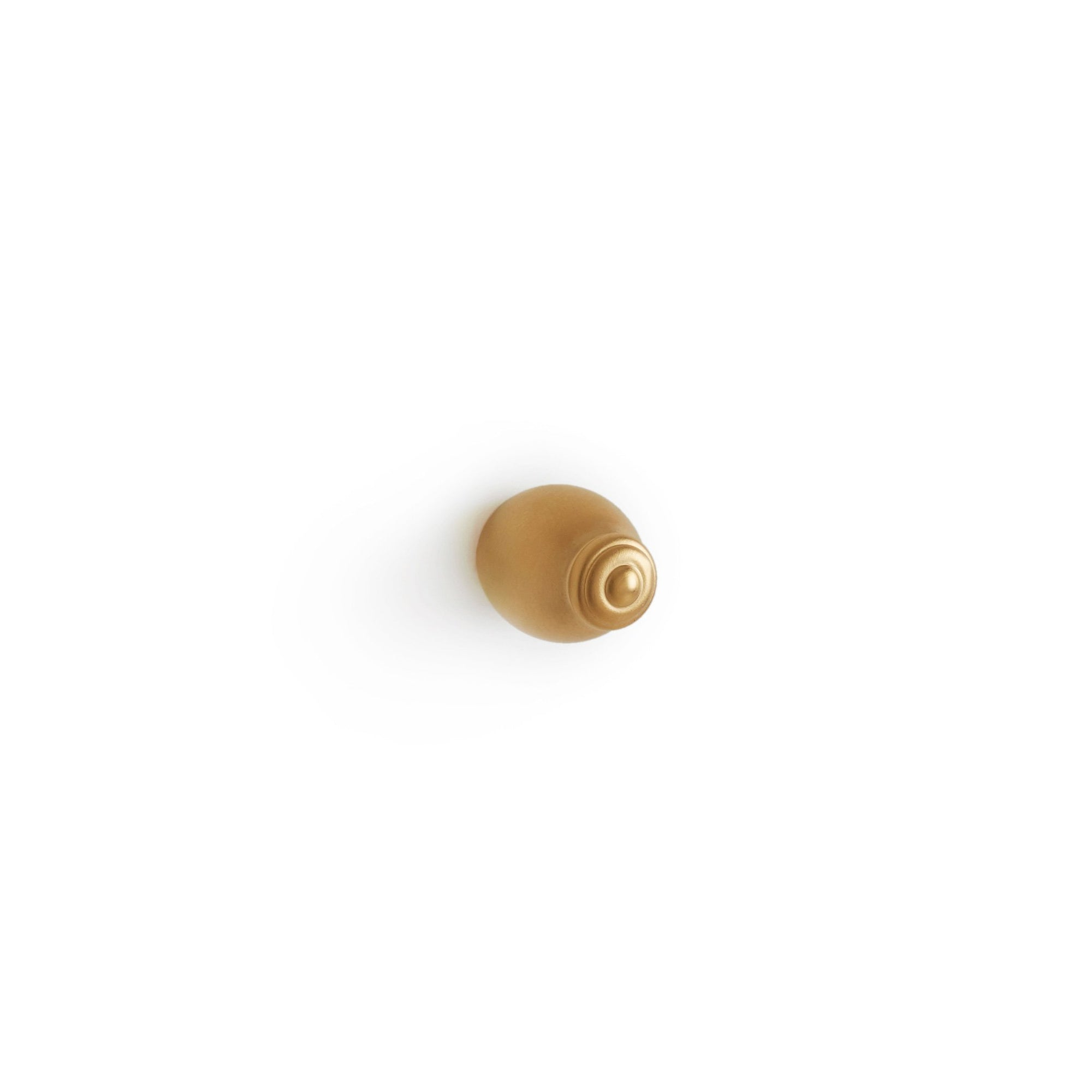 0006-3/4-GP Sherle Wagner International Grey Series I Cabinet & Drawer Knob in Gold Plate metal finish
