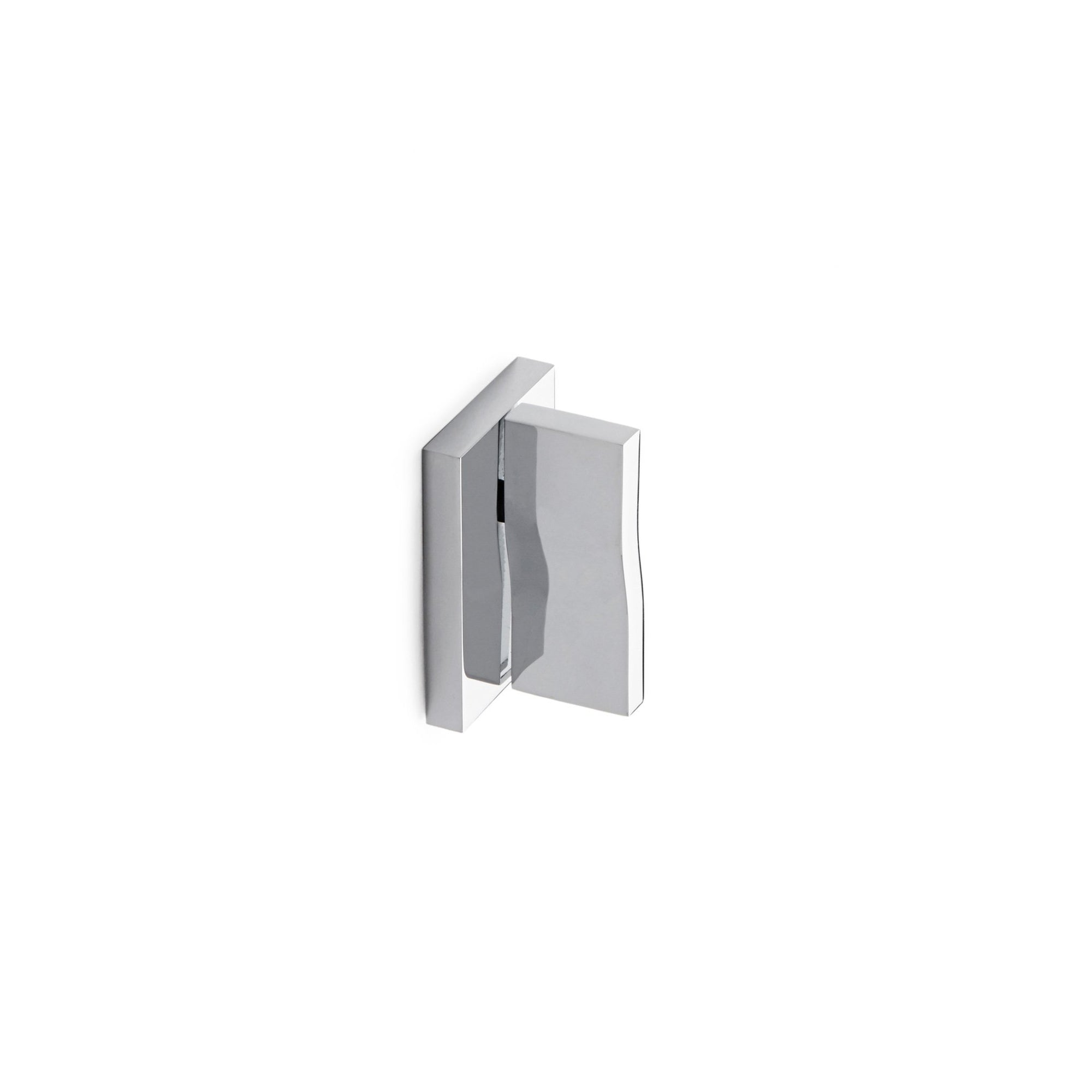 002LV-ESC-CP Sherle Wagner International Ripple Lever Volume Control and Diverter Trim in Polished Chrome metal finish