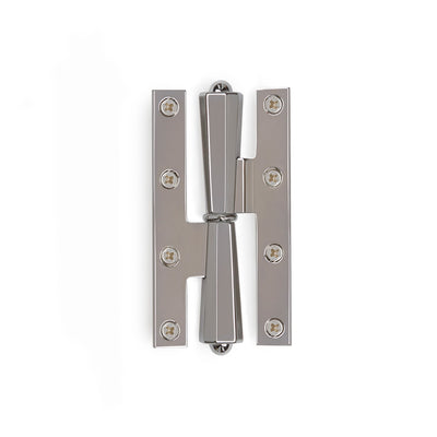 0035-HNGE-34-CP Sherle Wagner International Harrison Paumelle Hinge in Polished Chromemetal finish