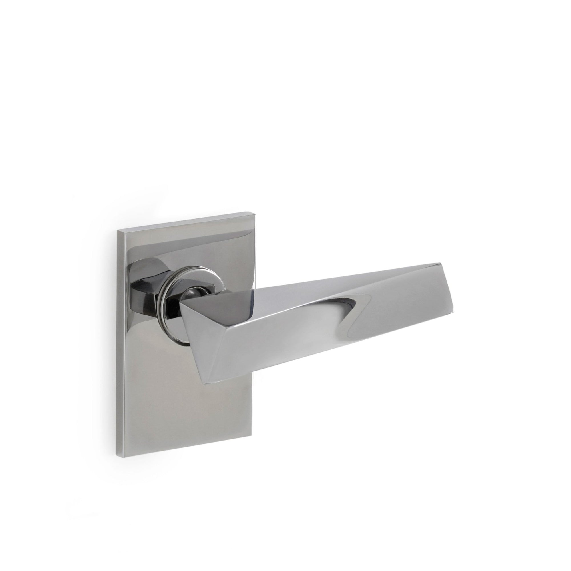 008DOR-RH-CP Sherle Wagner International Arco Door Lever in Polished Chrome metal finish