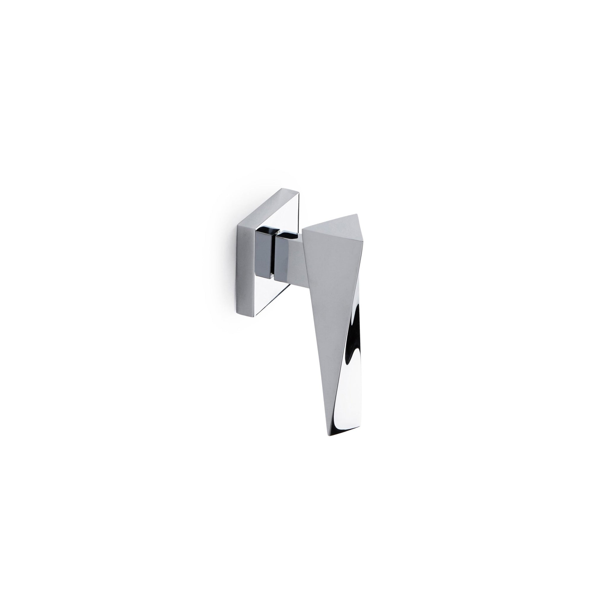008LV-ESC-ZZ-CP Sherle Wagner International Arco Lever Volume Control and Diverter Trim in Polished Chrome metal finish