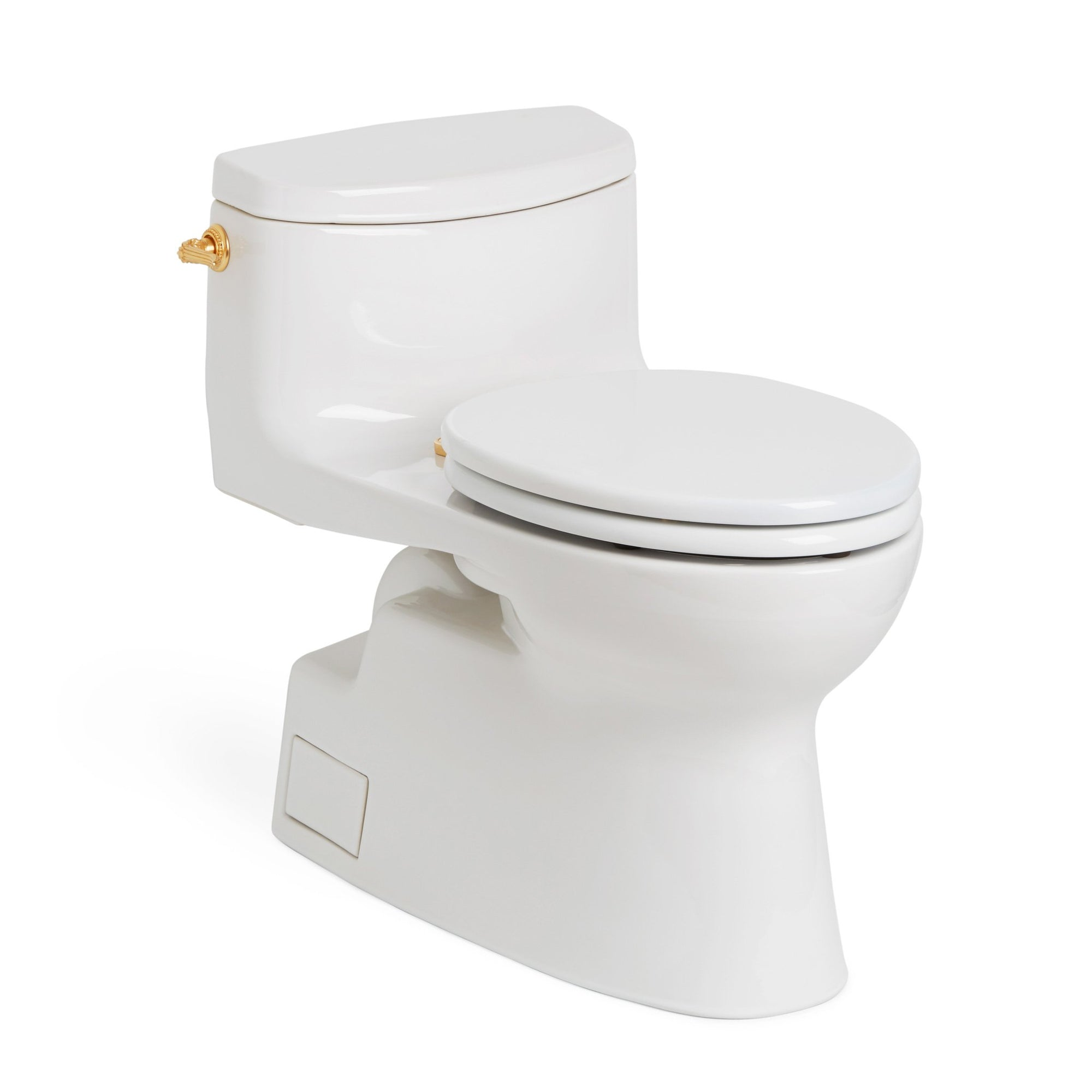 0234EL-WHT Sherle Wagner International White Glazed Ceramic Toilet