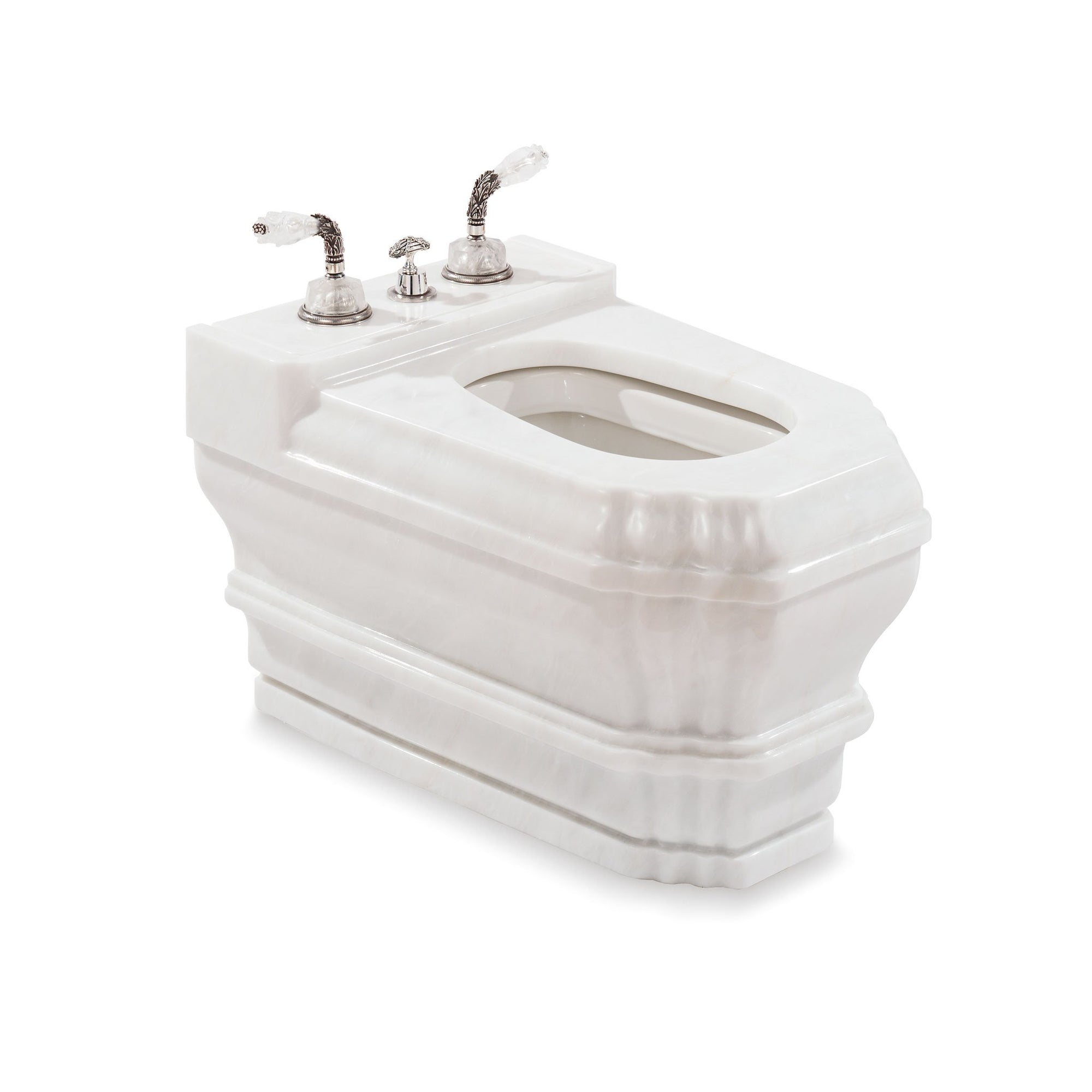 0241BDT-RSAU Sherle Wagner International Rose Aurora Georgian Bidet Casing Large