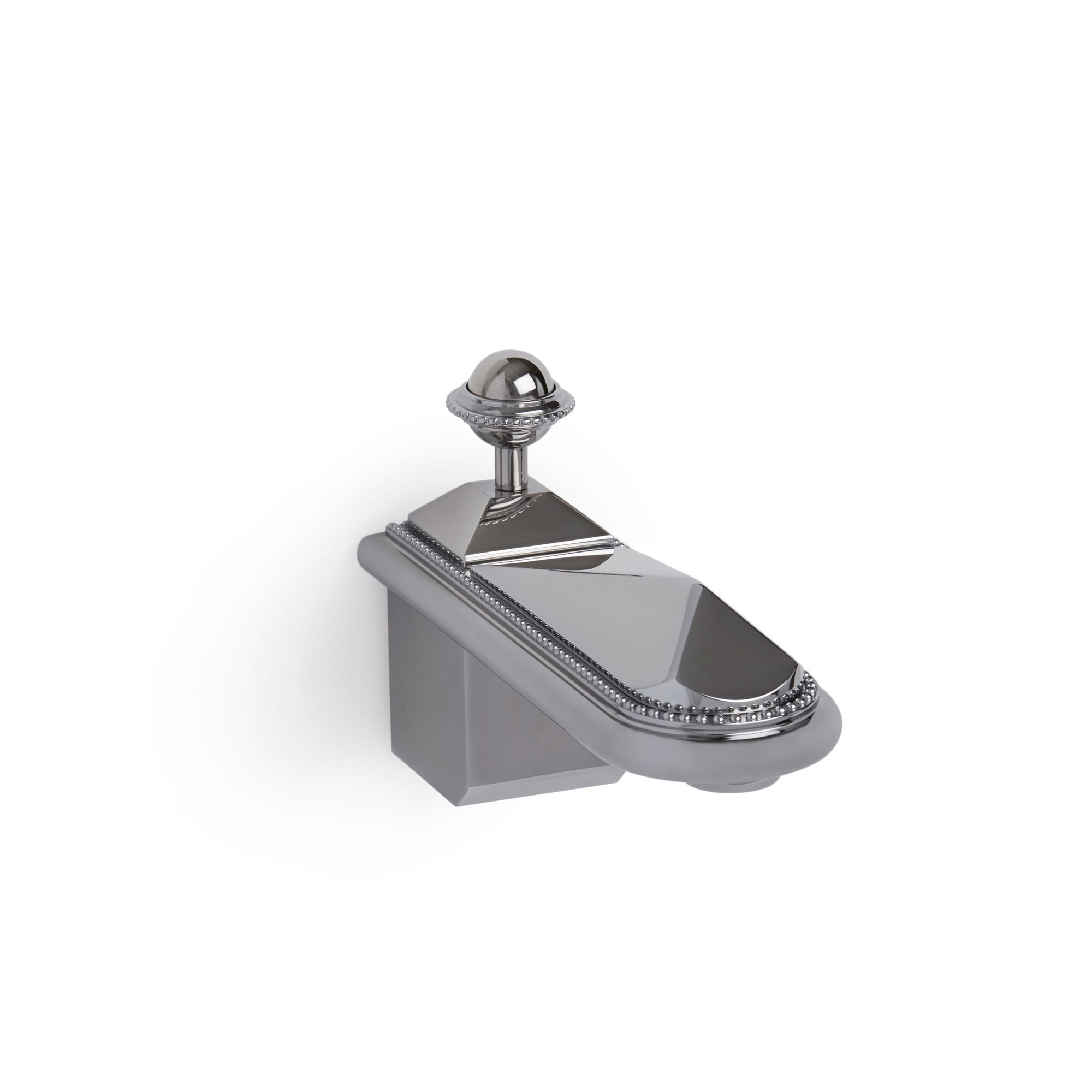 0803TUB-CP Sherle Wagner International Pyramid Wall Mount Tub Spout in Polished Chrome metal finish