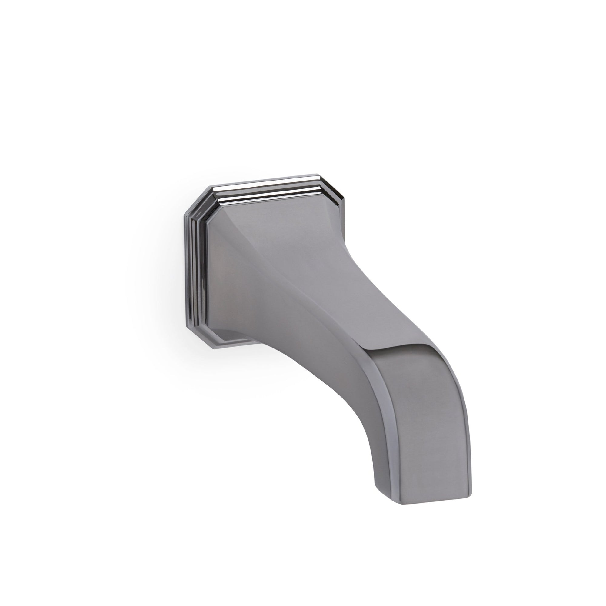 0824TUB-S-CP Sherle Wagner International Harrison Wall Mount Tub Spout Small in Polished Chrome metal finish