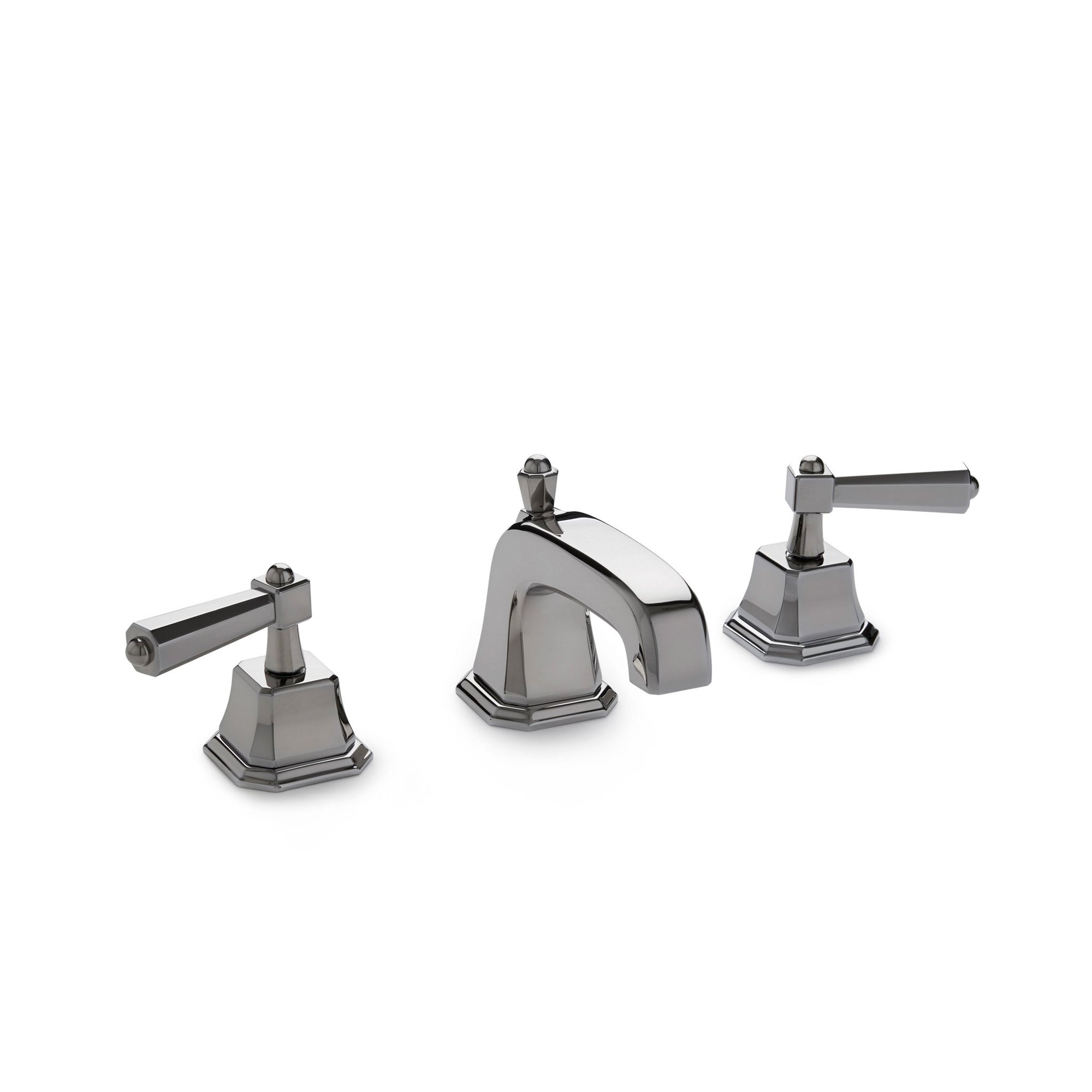 0980BSN-CP Sherle Wagner International Harrison Lever Faucet Set in Polished Chrome metal finish