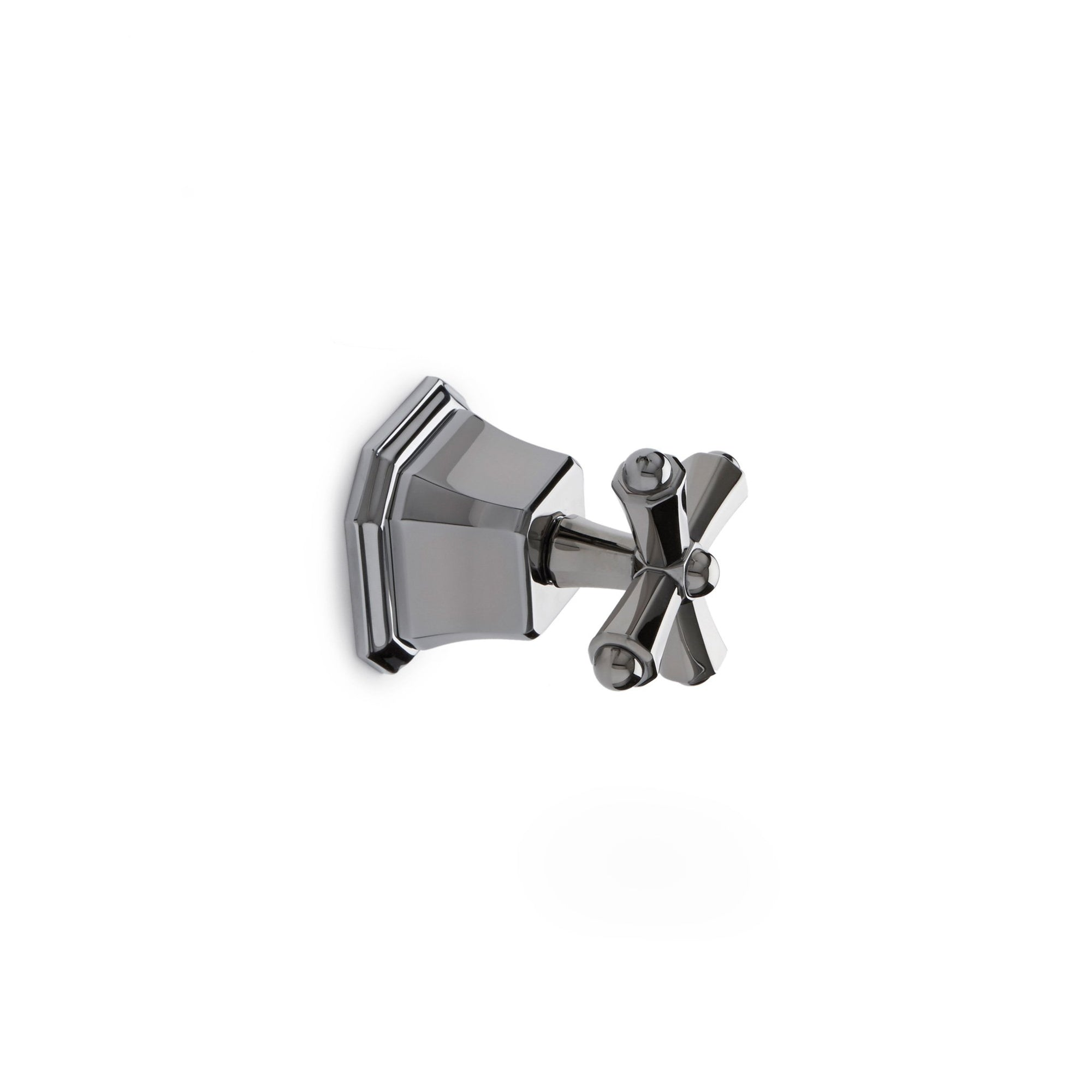 0981KB-ESC-CP Sherle Wagner International Harrison Cross Handle Volume Control and Diverter Trim in Polished Chrome metal finish