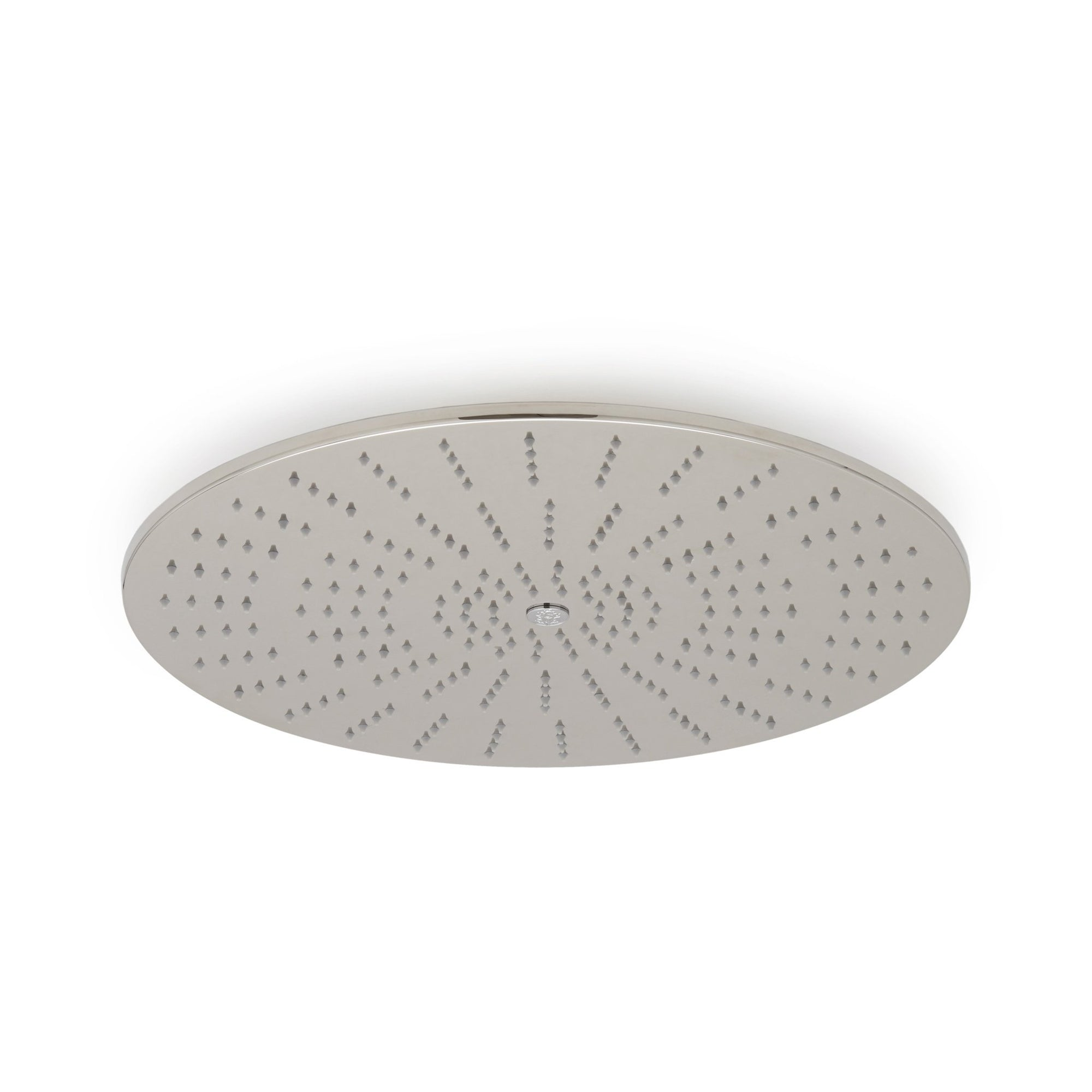 101CSHD-19RD-PN Sherle Wagner International Modern Round Ceiling Rain Plate in Polished Nickel metal finish