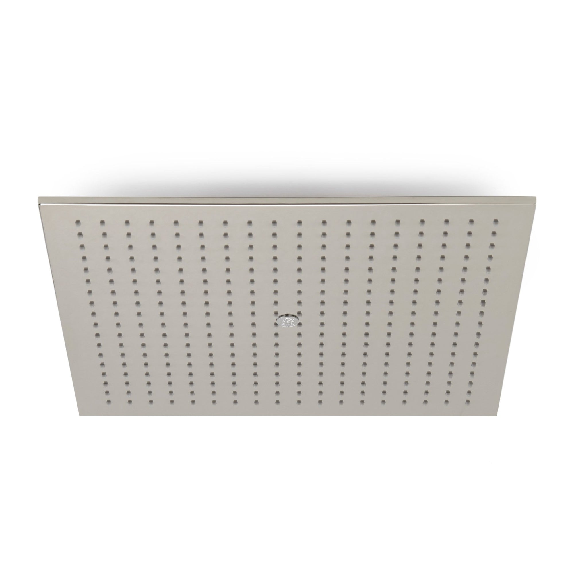 101CSHD-20SQ-PN Sherle Wagner International Modern Square Ceiling Rain Plate in Polished Nickel metal finish