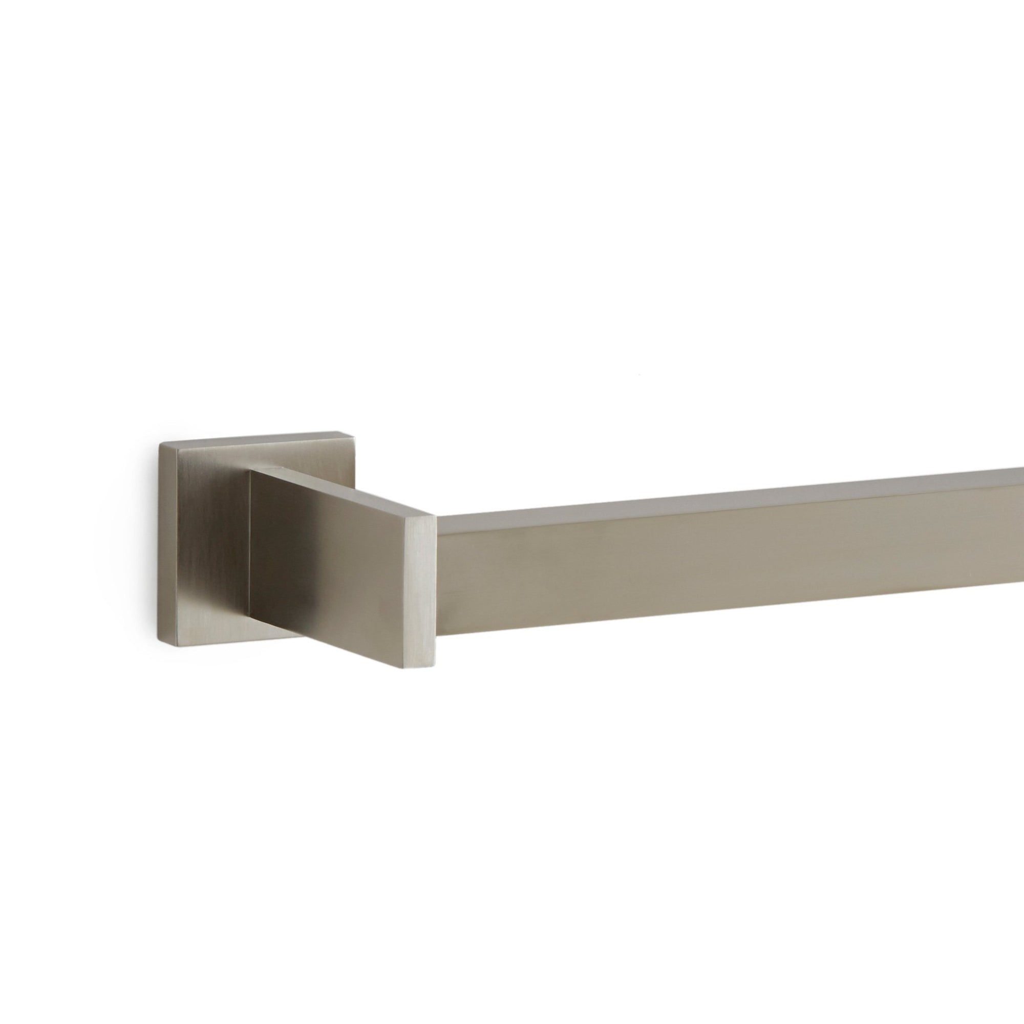 101TB-30-BN Sherle Wagner International Modern Towel Bar in Brushed Nickel metal finish
