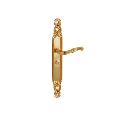 Crisscross with Ribbon & Reed Lever Door Set