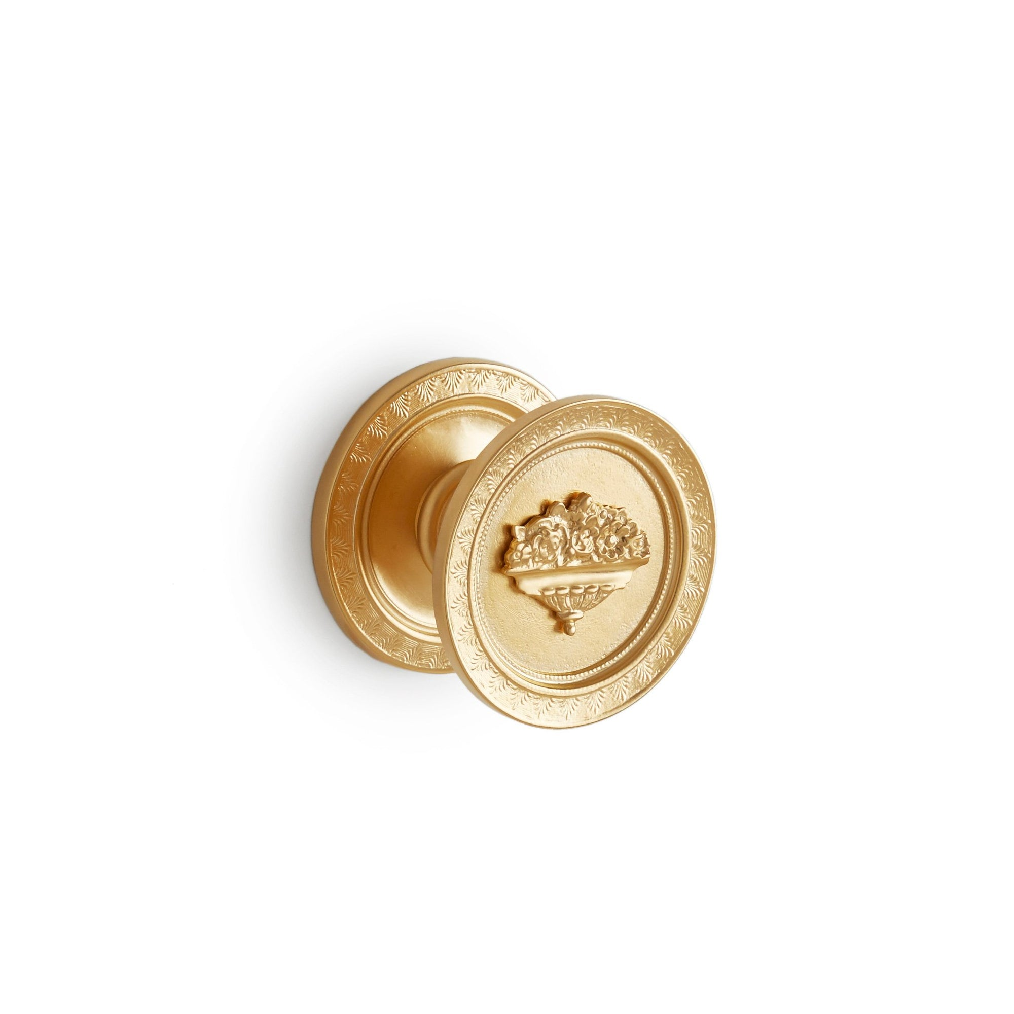 1090DOR-GP Sherle Wagner International Imperial Door Knob in Gold Plate metal finish