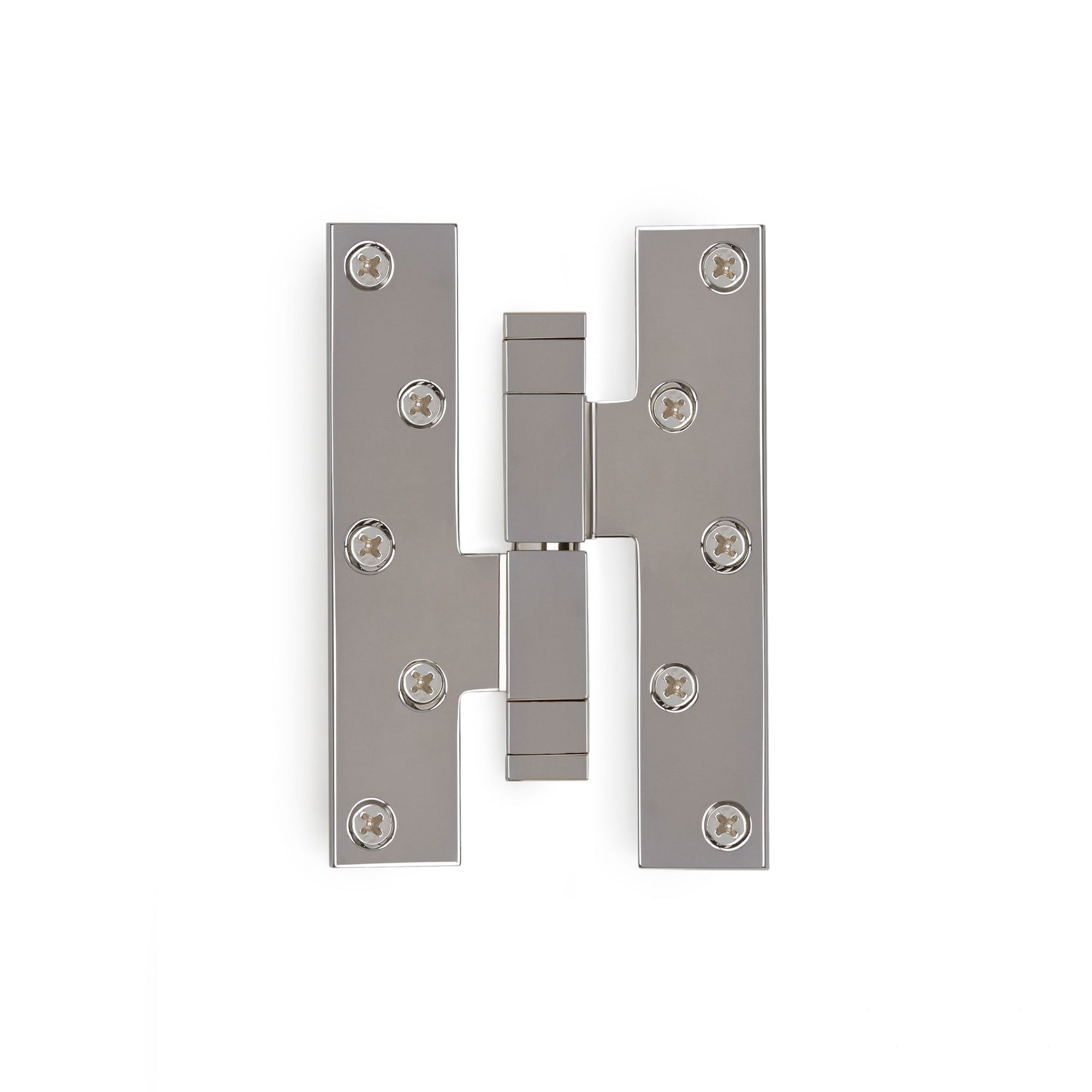 2002-HNGE-SQ-HD-ZZ-CP Sherle Wagner International Modern Square Paumelle Hinge in Polished Chromemetal finish