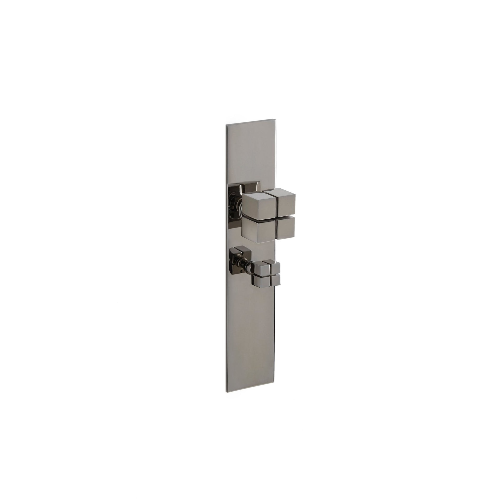 Modern with Quad Knob Door Set