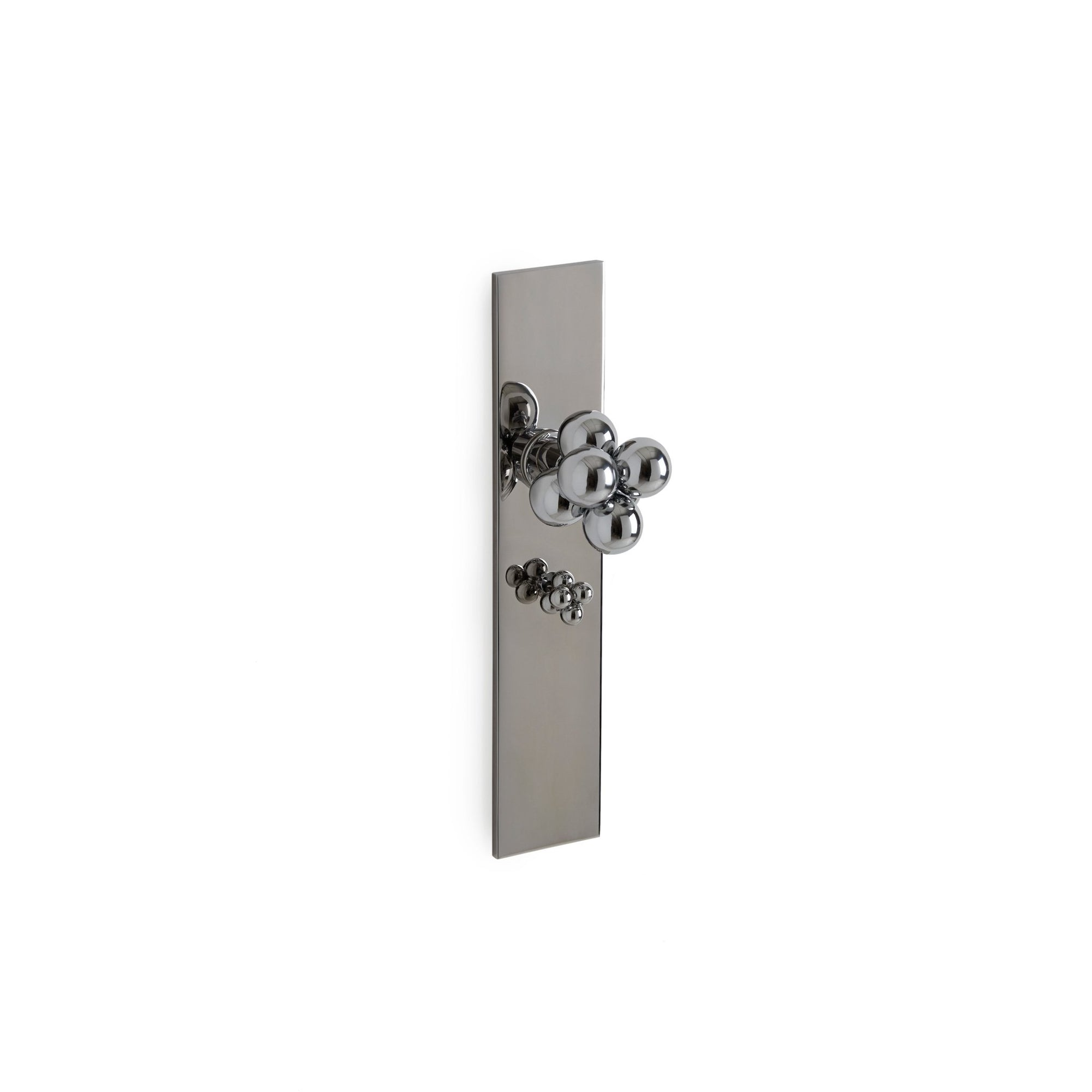 Modern with Molecule Knob Door Set