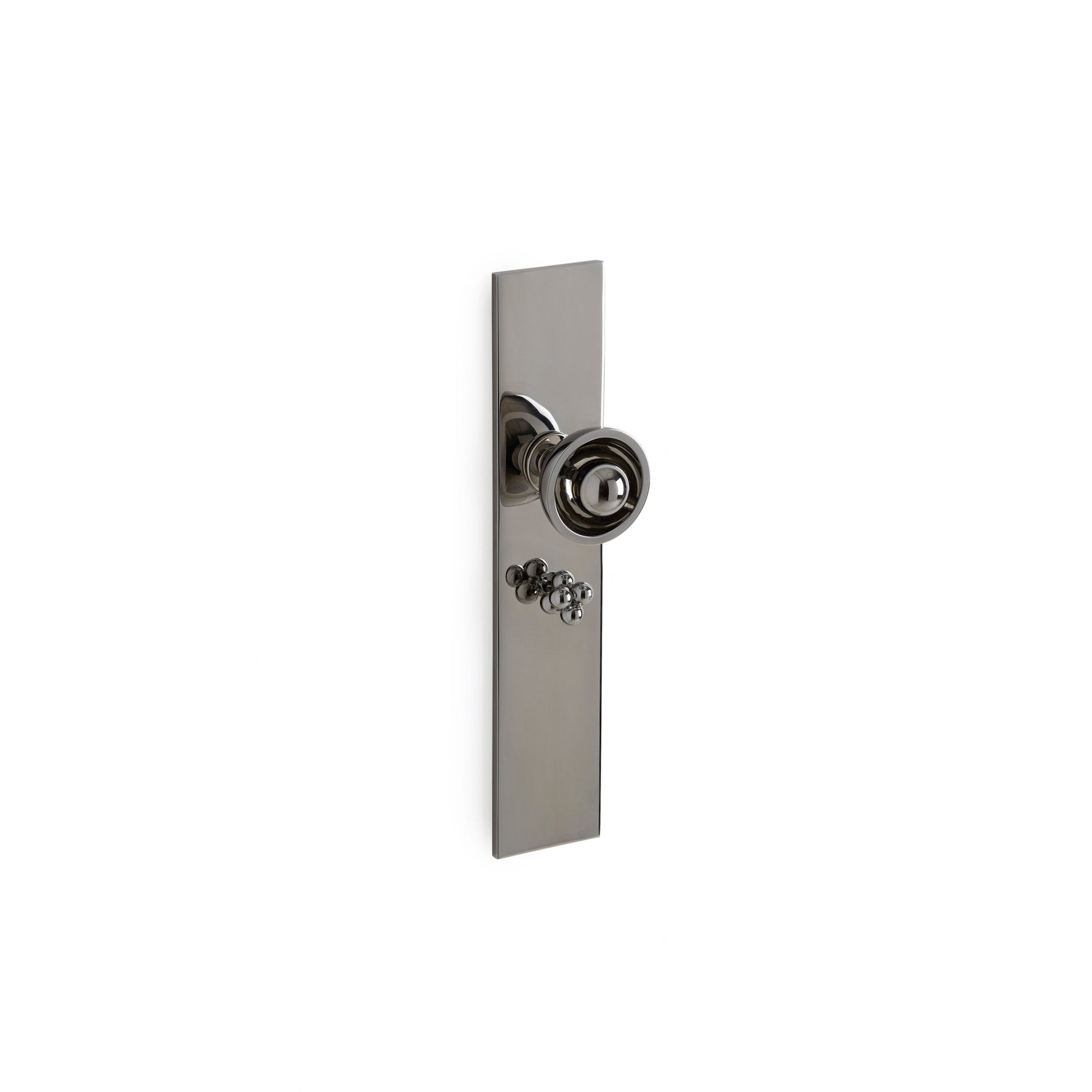 Modern with Saturn Knob Door Set