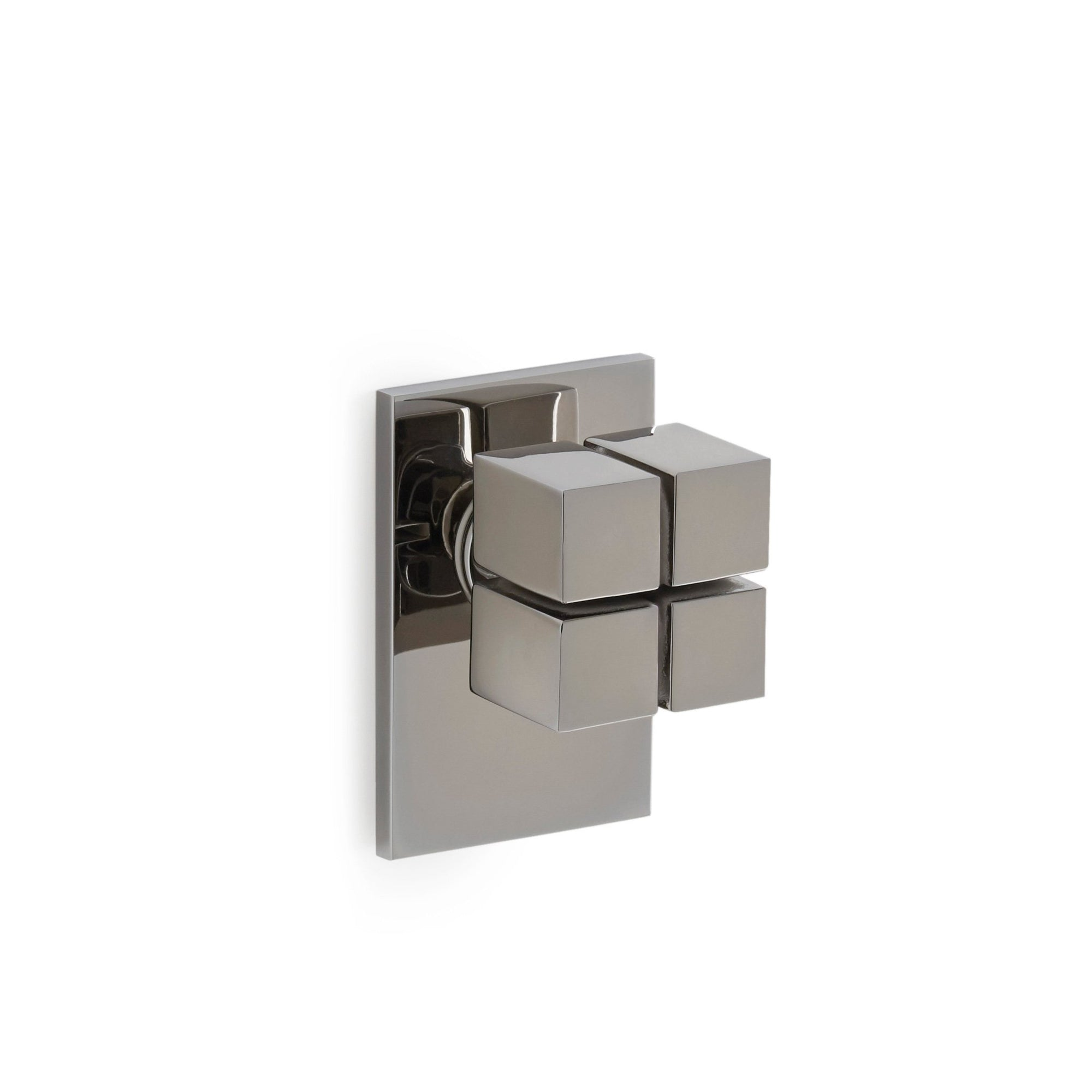 2003DOR-CP Sherle Wagner International Quad Door Knob in Polished Chrome metal finish