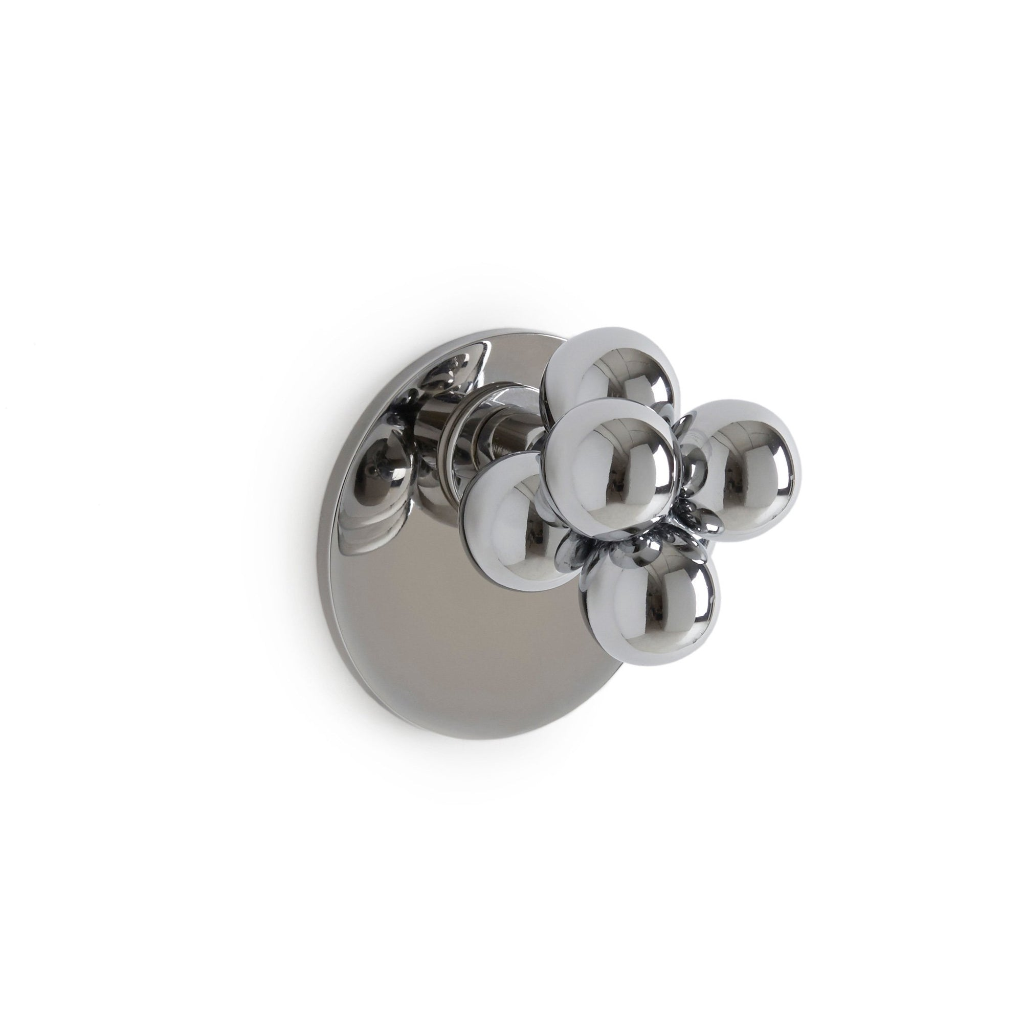 2005DOR-CP Sherle Wagner International Molecule Door Knob in Polished Chrome metal finish