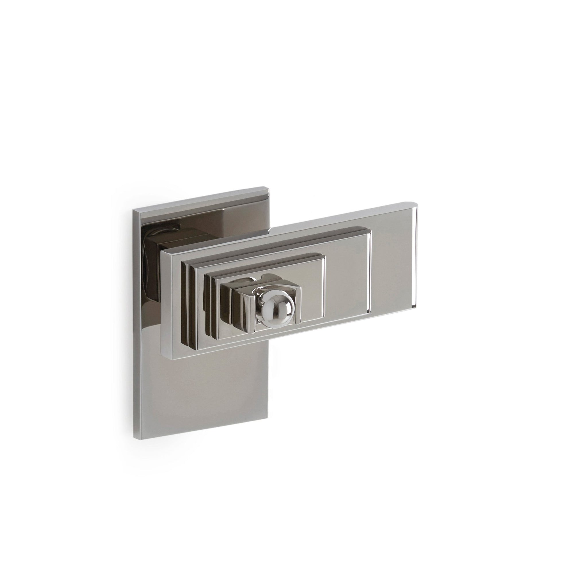 2010DOR-RH-CP Sherle Wagner International Nouveau Door Lever in Polished Chrome metal finish