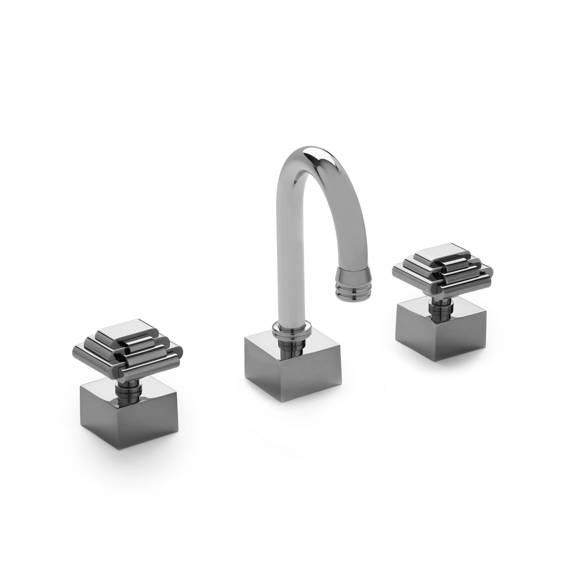 2015BAR800-CP Sherle Wagner International Arco with Nouveau Knob Bar Set in Polished Chrome metal finish