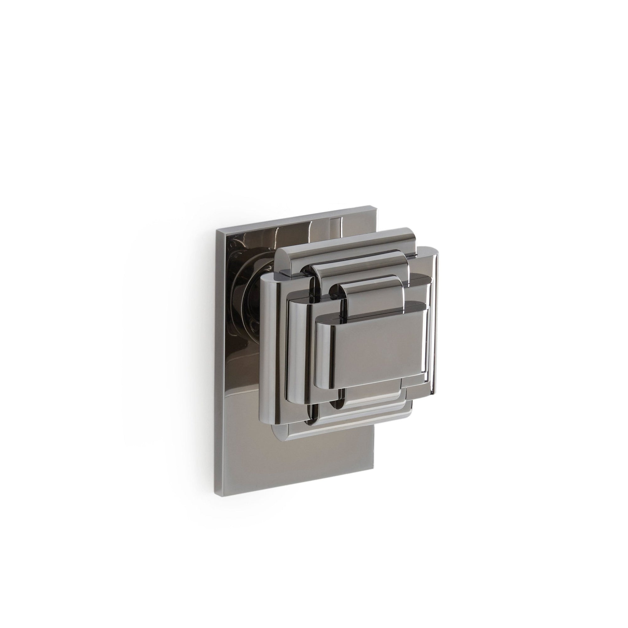 2015DOR-CP Sherle Wagner International Nouveau Door Knob in Polished Chrome metal finish