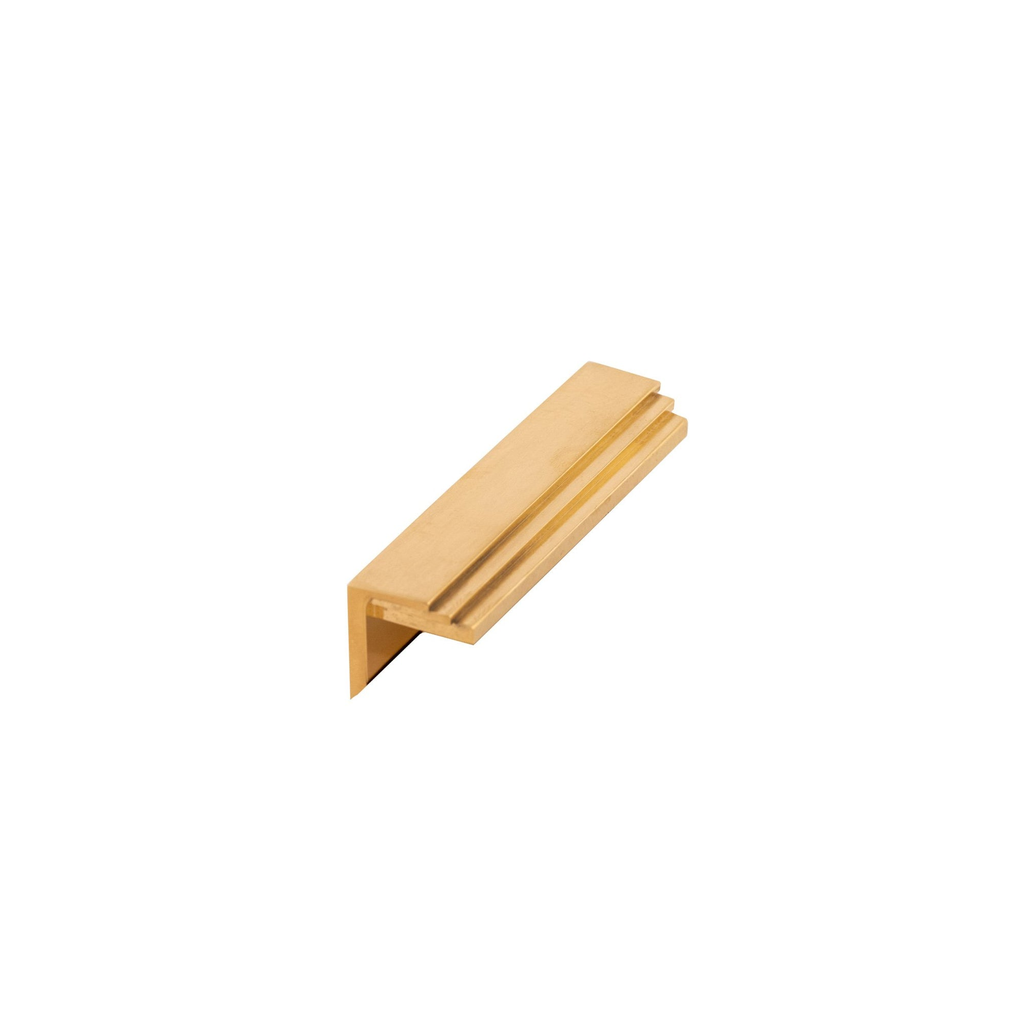 2060-EDPL-300S-BG Sherle Wagner International Keystone Edge Pull in Burnished Gold metal finish