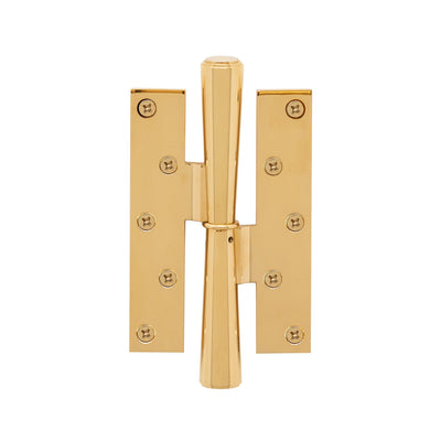 2070-HNGE-HD-ZZ-AL Sherle Wagner International Dorian Paumelle Hinge in Almond Gold metal finish