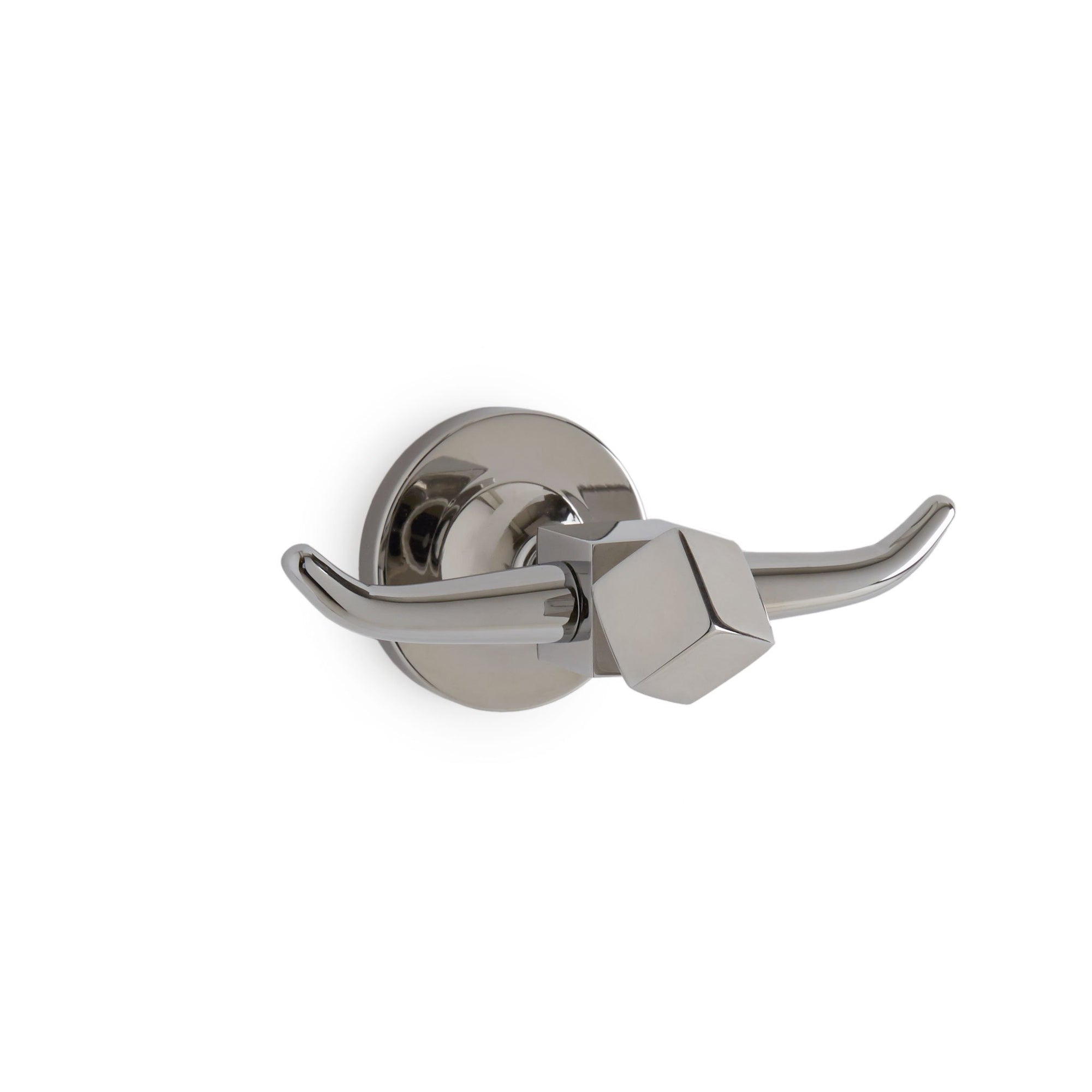 3410-CP Sherle Wagner International Tangent Crystal Fluted Hook in Polished Chrome metal finish
