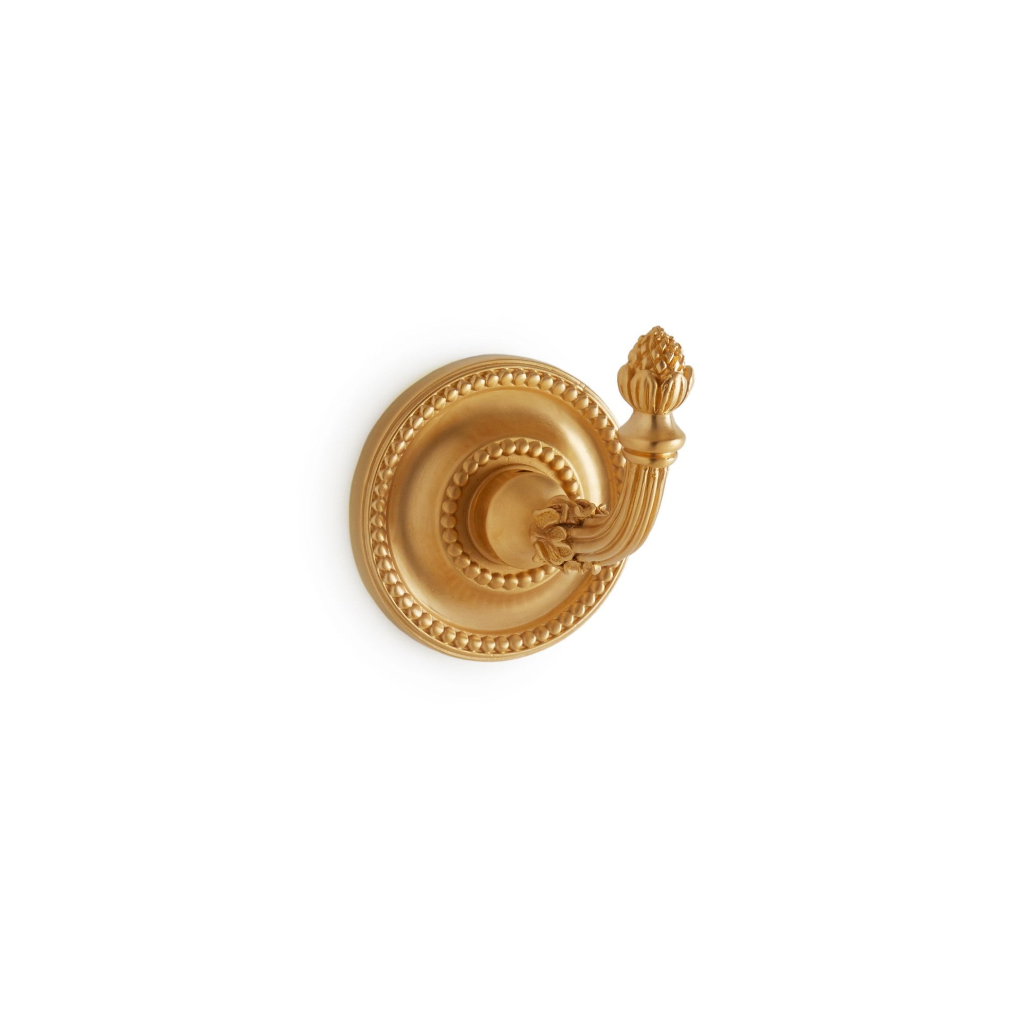 3416-GP Sherle Wagner International Classical Hook in Gold Plate metal finish