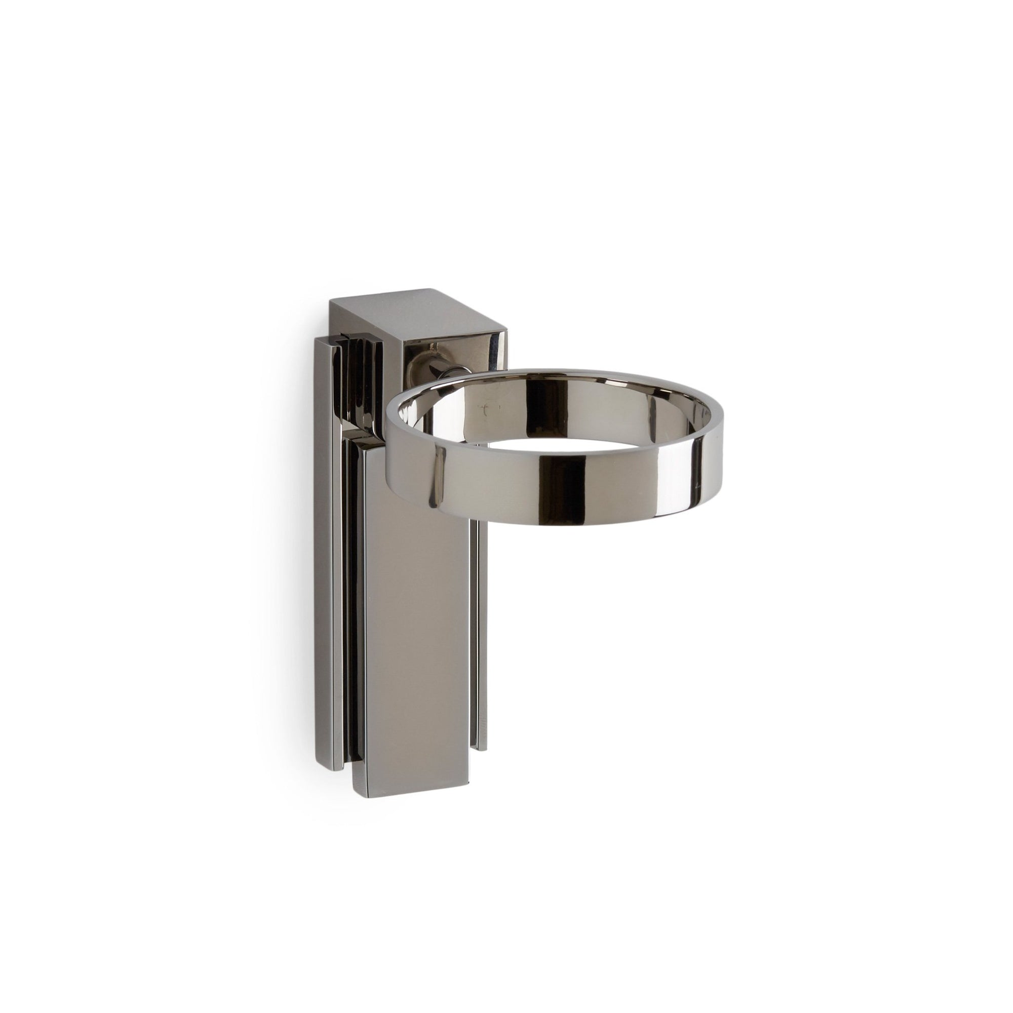 3458-MLIN-CP Sherle Wagner International Apollo Tumbler Holder with Metal insert in Polished Chrome metal finish