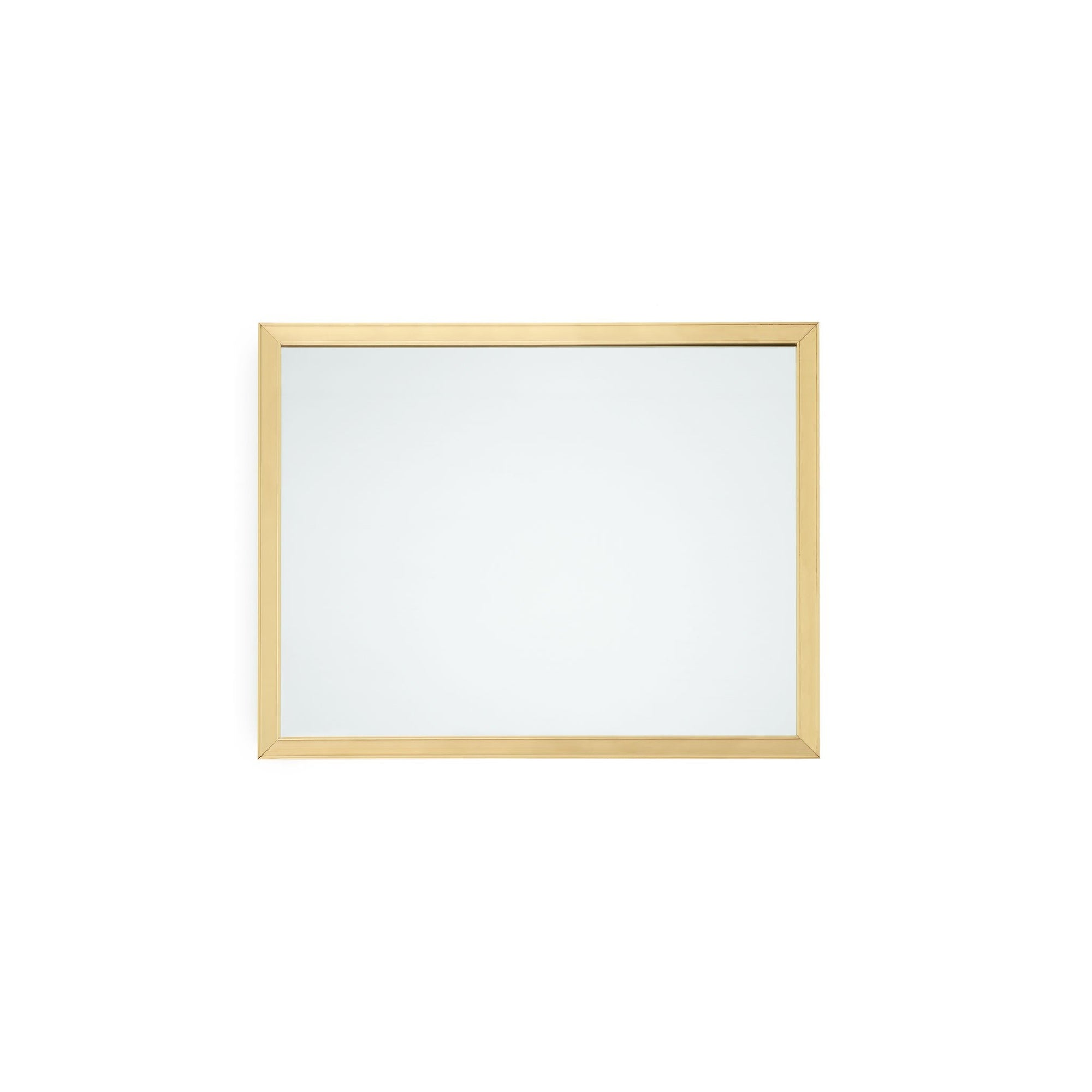 4260M21-GP Sherle Wagner International Contemporary Mirror in Gold Plate metal finish