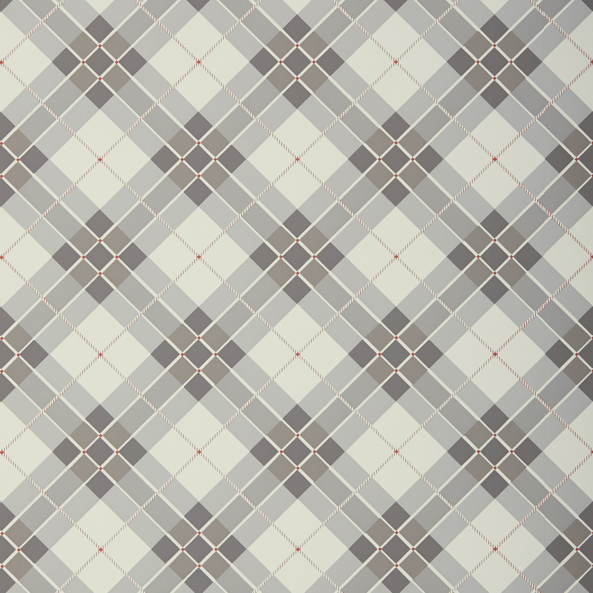 English Country Tartan Wallpaper