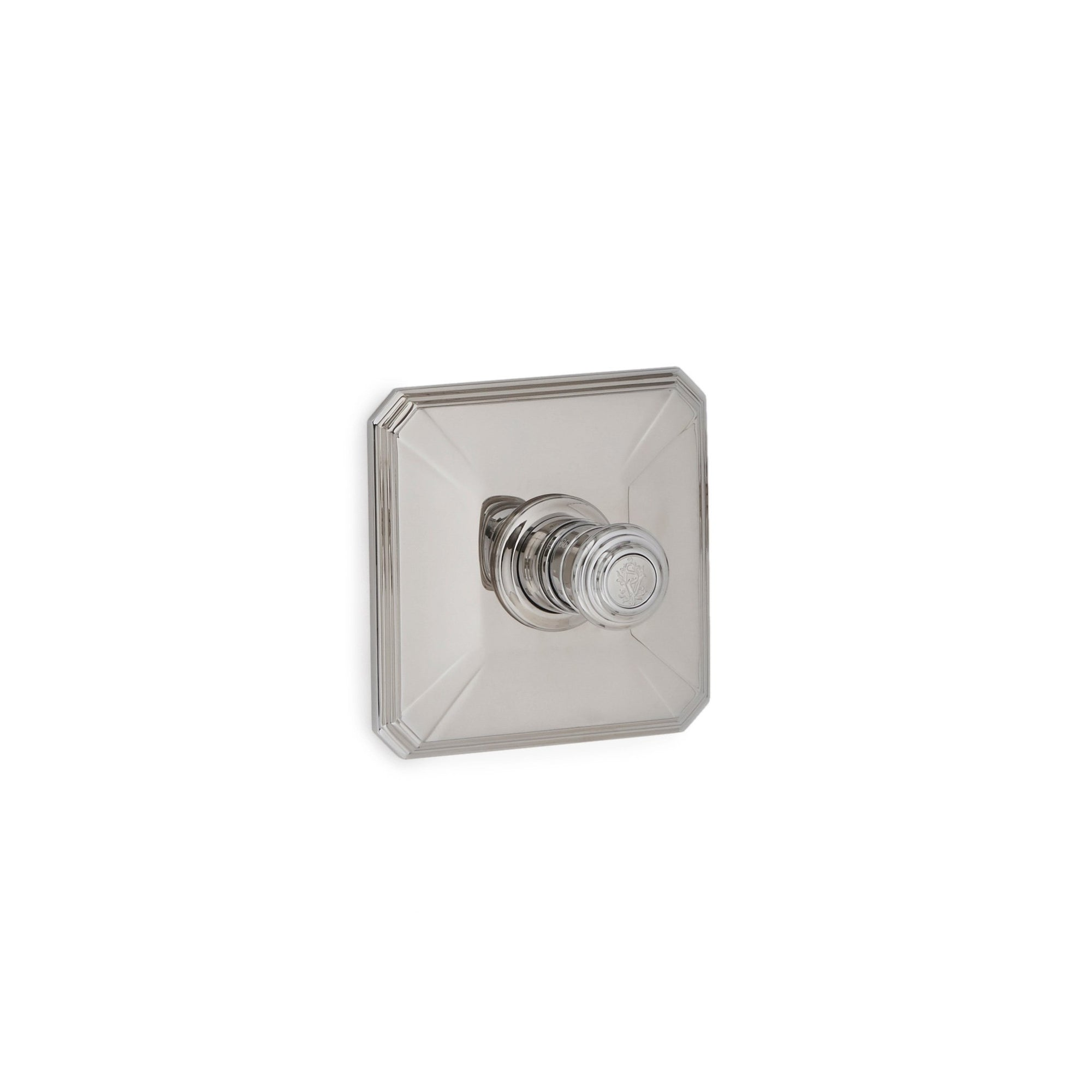 TMO08PL-LOGO-CP Sherle Wagner International Harrison High Flow Thermostatic Trim in Polished Chrome metal finish