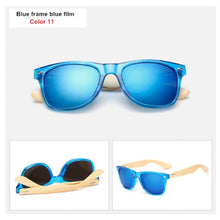 Load image into Gallery viewer, Vintage Wooden Sunglasses