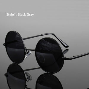 Retro Classic Vintage Round Polarized Sunglasses