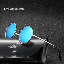 Load image into Gallery viewer, Retro Classic Vintage Round Polarized Sunglasses