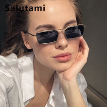 Load image into Gallery viewer, Square Women's Alloy Metal Sunglasses