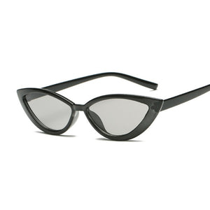 Vintage Black Cat Eye Sunglasses