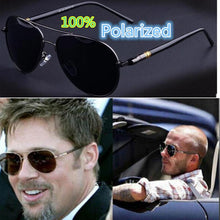 Load image into Gallery viewer, Polarized Brad Pitt Sunglasses