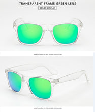 Load image into Gallery viewer, Polarized Transparent Frame Sunglasses