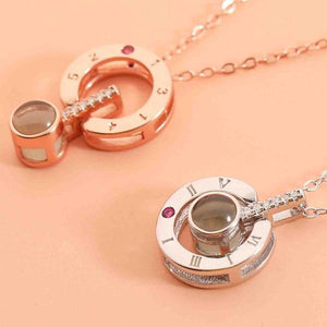 "''I Love You"" in 100 Languages Pendant Necklace"