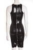 Latex Manhattan Dress - Black