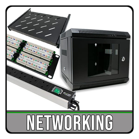 Networking Cables, Reels, Rack Cabinets & Accessories. Next Day Delivery. iChoose Ltd.