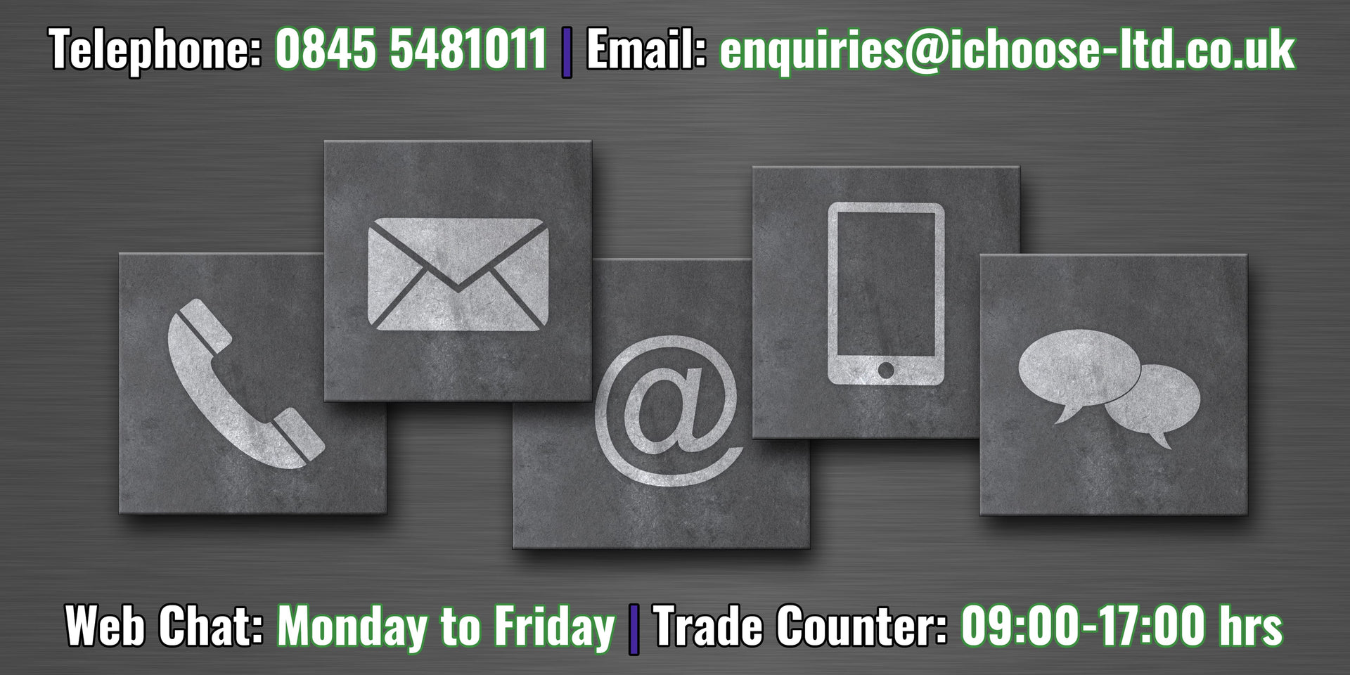 i-choose limited contact information and opening hours