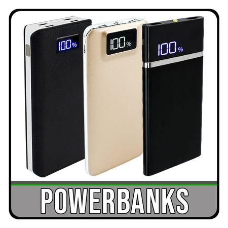 iPhone and Galaxy powerbank charging cases. iChoose Ltd.
