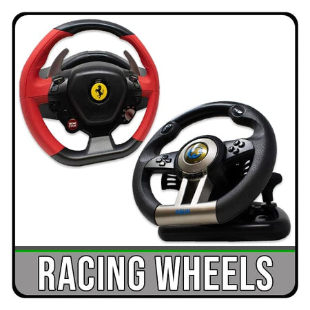 racing gaming steering wheels for pc and console. iChoose Ltd.