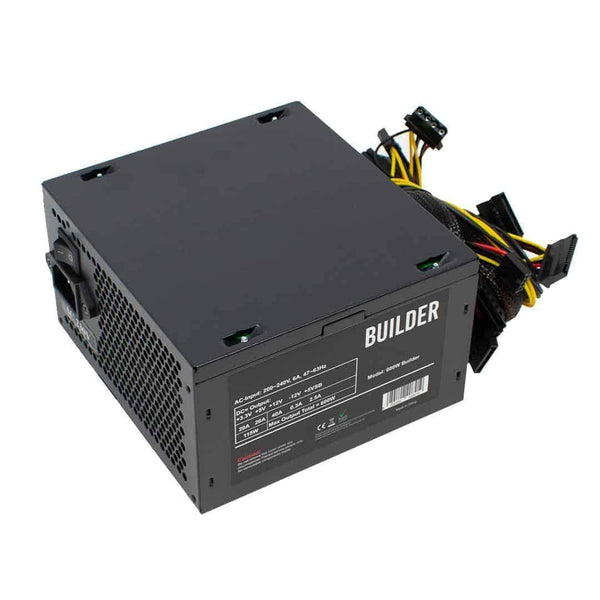 Builder 600W ATX PSU Power Supply Unit 12cm Fan for PC Computer Builder